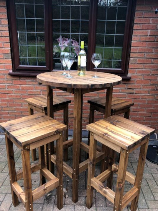Orchard Outdoor Bar Set