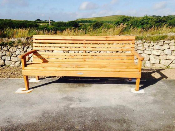 Woodland Oak Bench