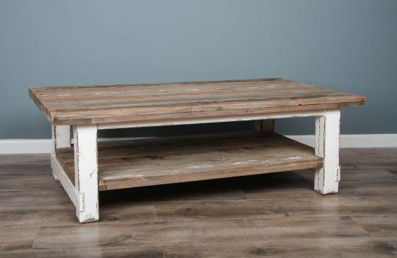 140cm Reclaimed Pine Coastal Coffee Table