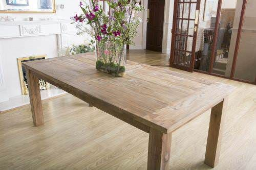 2m Reclaimed Teak Mexico Dining Table