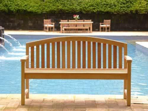 Teak Garden Bench - Contemporary