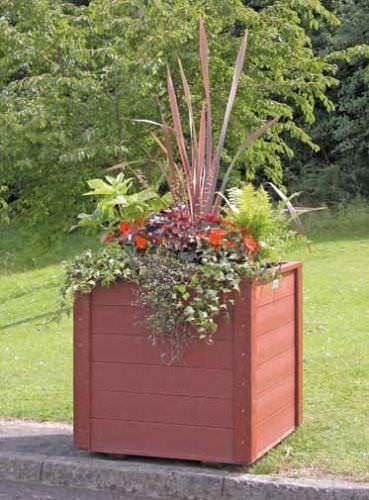 Recycled Plastic Large Planter