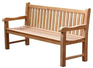Teak Garden Bench - Classic