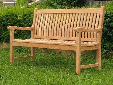 York Teak Garden bench