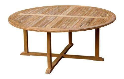 Teak Table Circular 1.8m
