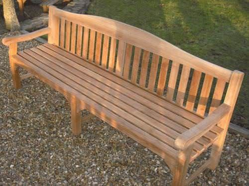 Teak Garden Bench - Oxford Large