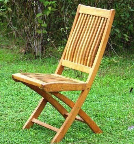 Kiffa Teak Folding Chair