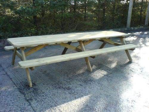 10' or 12' Large Pub Picnic Bench