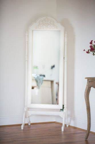Free Standing French Style Mirror