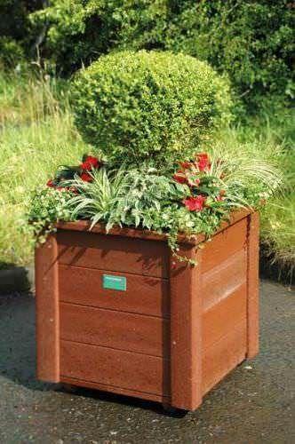 Recycled Plastic Medium Planter