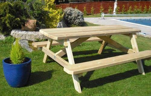 Classic Picnic Bench