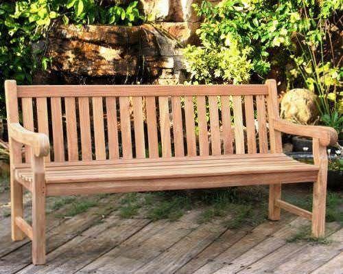 Teak Garden Bench - Big Classic
