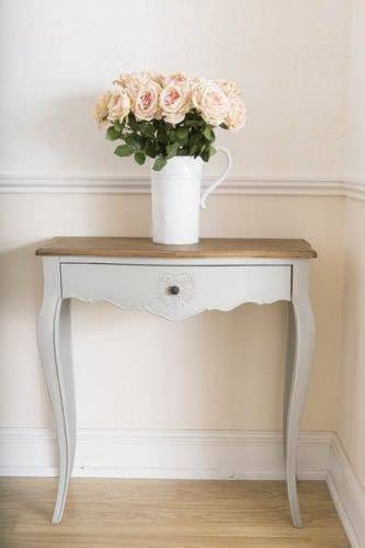 French Style Heart Console Table