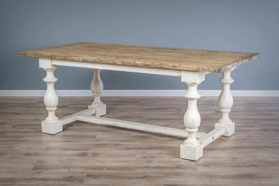 2m Reclaimed Pine Ellena Dining Table