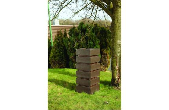 Recycled Plastic Tall Planter