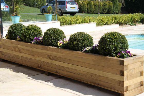 Douglas Fir Extra Large Garden Planter