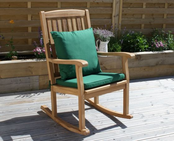 Marley Teak Rocking Chair