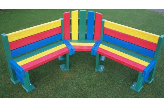 Recycled Plastic Junior Buddy Bench