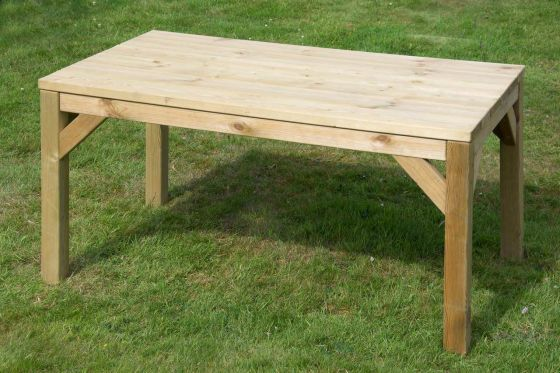 1.5m Traditional Garden Table
