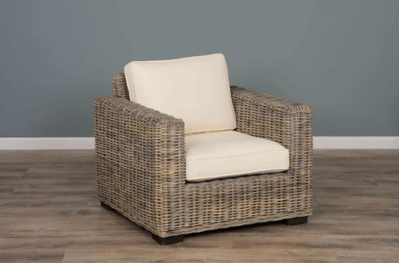 Natural Wicker Java Sofa Chair