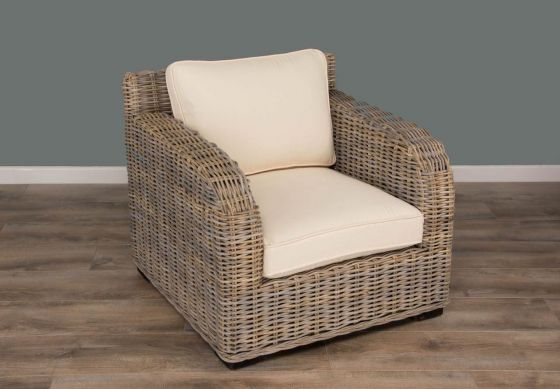 Natural Wicker Manga Sofa Chair