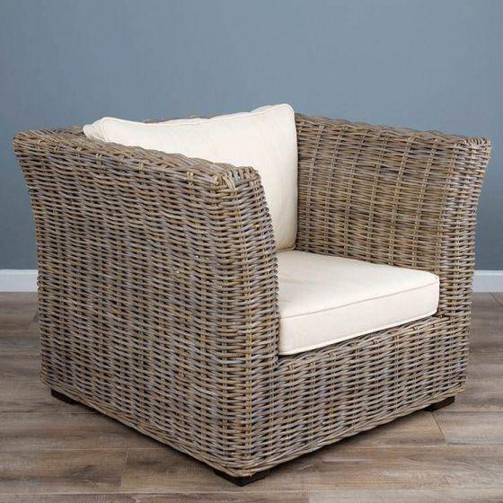 Natural Wicker Oriza Sofa Chair