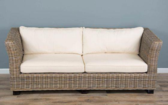 Natural Wicker 2 or 3 Seater Oriza Sofa
