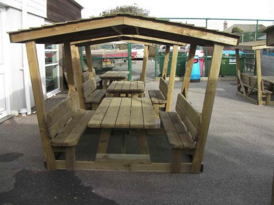 Picnic Table Shelter