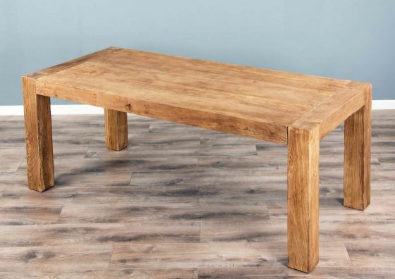 1.8m Reclaimed Elm Luxury Chunky Style Dining Table