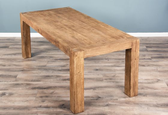 2m Reclaimed Elm Luxury Chunky Style Dining Table