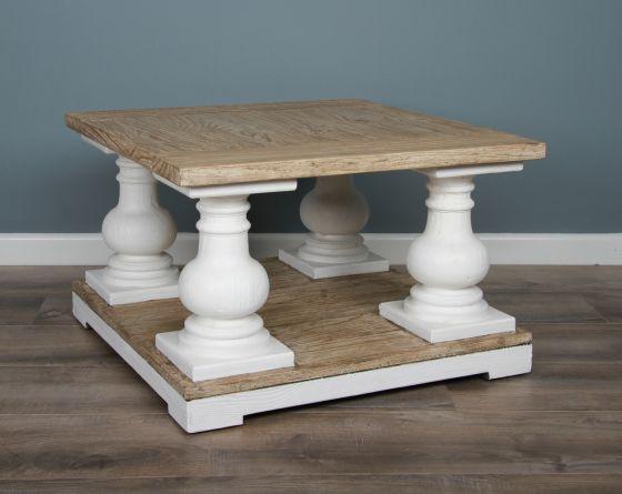 70cm Reclaimed Pine Ellena Coffee Table