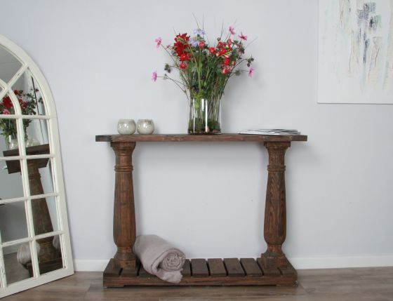 1.2m Shabby Chic Console Table