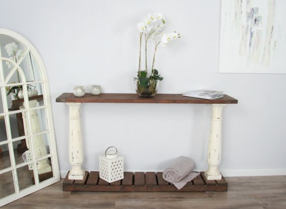 1.6m Shabby Chic Console Table