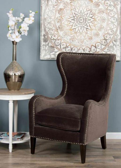 The Velveteen Sofa Chair - Stone