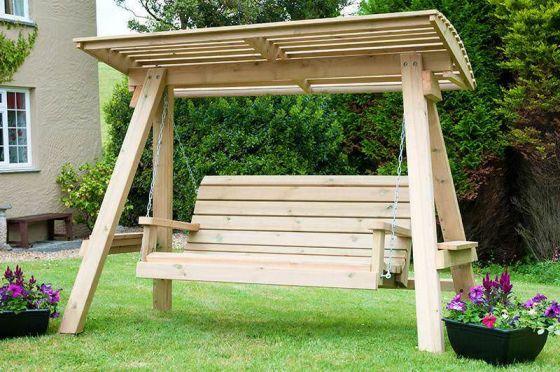 Swedish Redwood Swing Seat