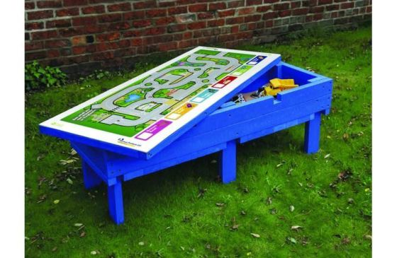 Recycled Plastic Activity Table Sand Box
