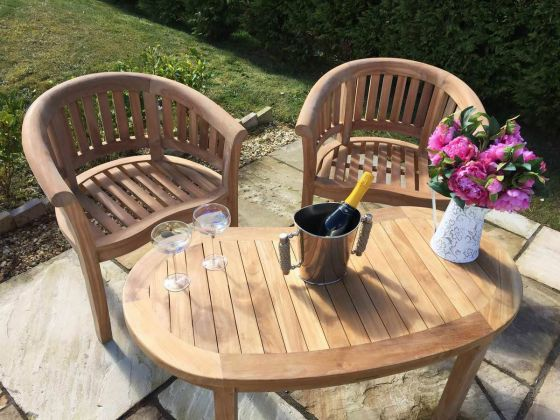 San Francisco Chair and Coffee Table Set