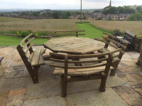 Octagonal Picnic Bench