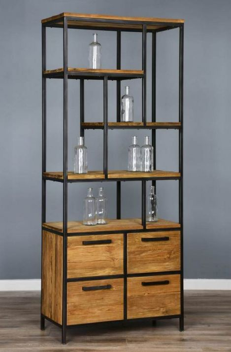 Urban Fusion Display Unit with Four Drawers