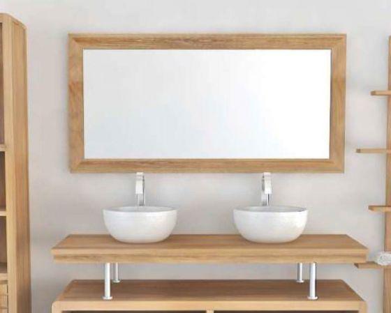 Vogue Teak Mirror