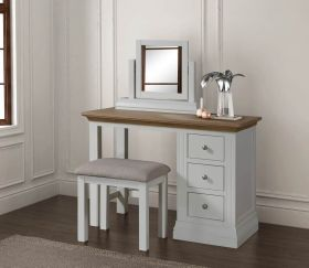 Sennen Dressing Table Set with Mirror and Stool