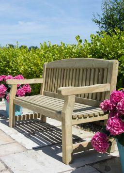 Sustainable Swedish Redwood Garden Bench