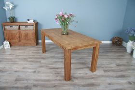 2m Reclaimed Teak Taplock Dining Table