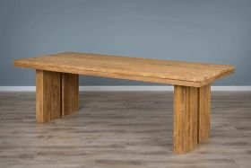 2.4m Reclaimed Teak Tangerang Dining Table
