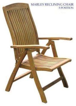 Teak Marley Reclining Chair