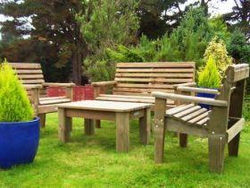 Woodland Bench Set
