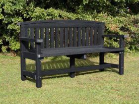 Recycled Plastic Commemorative Bench