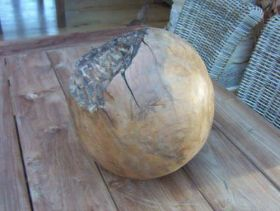 Solid Reclaimed Teak Root Ball