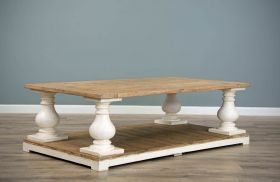 140cm Reclaimed Pine Ellena Coffee Table