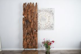Reclaimed Teak Root Screen